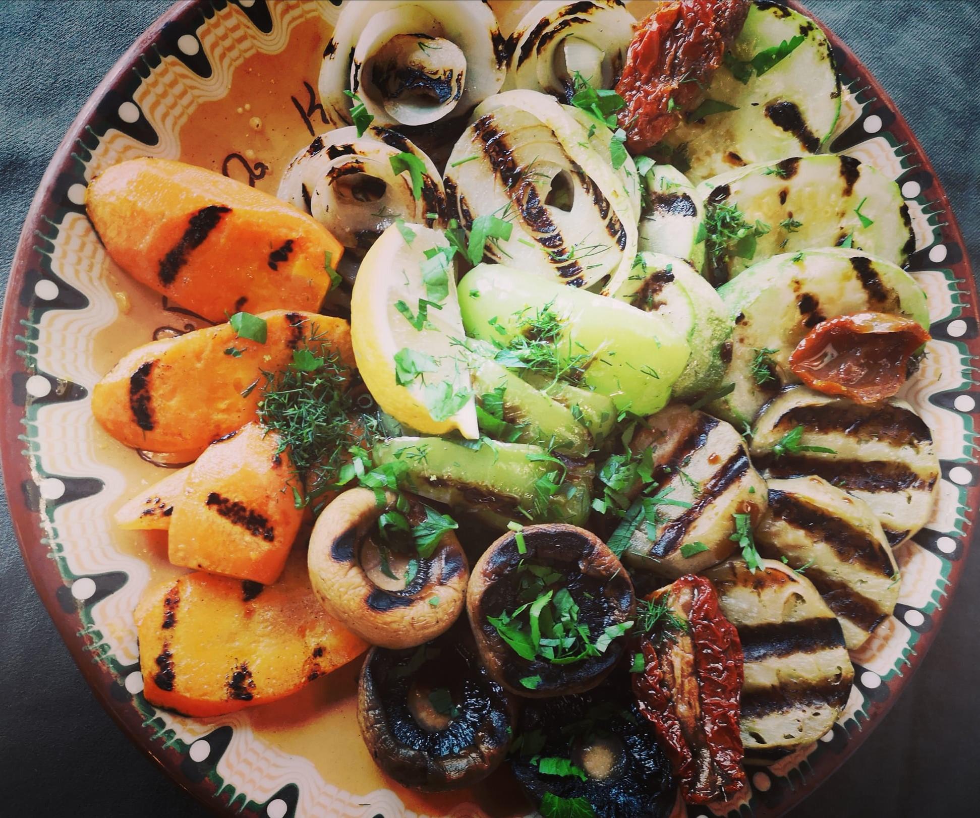 Зеленчуци на скара