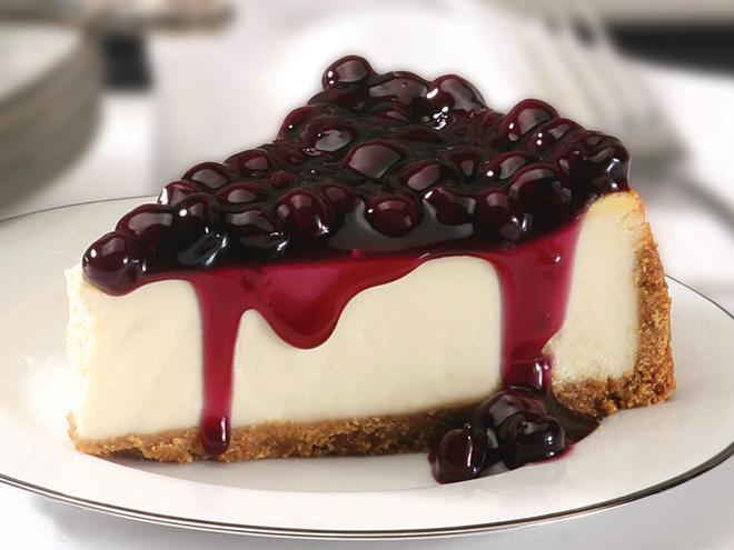 Чийз кейк с боровинки