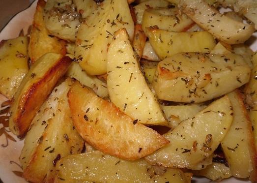 Картофи на фурна с масло 1800 гр.