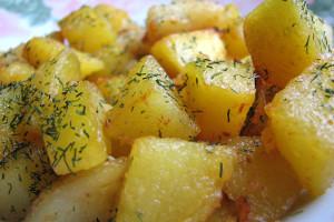 Задушени картофи 1000 гр.